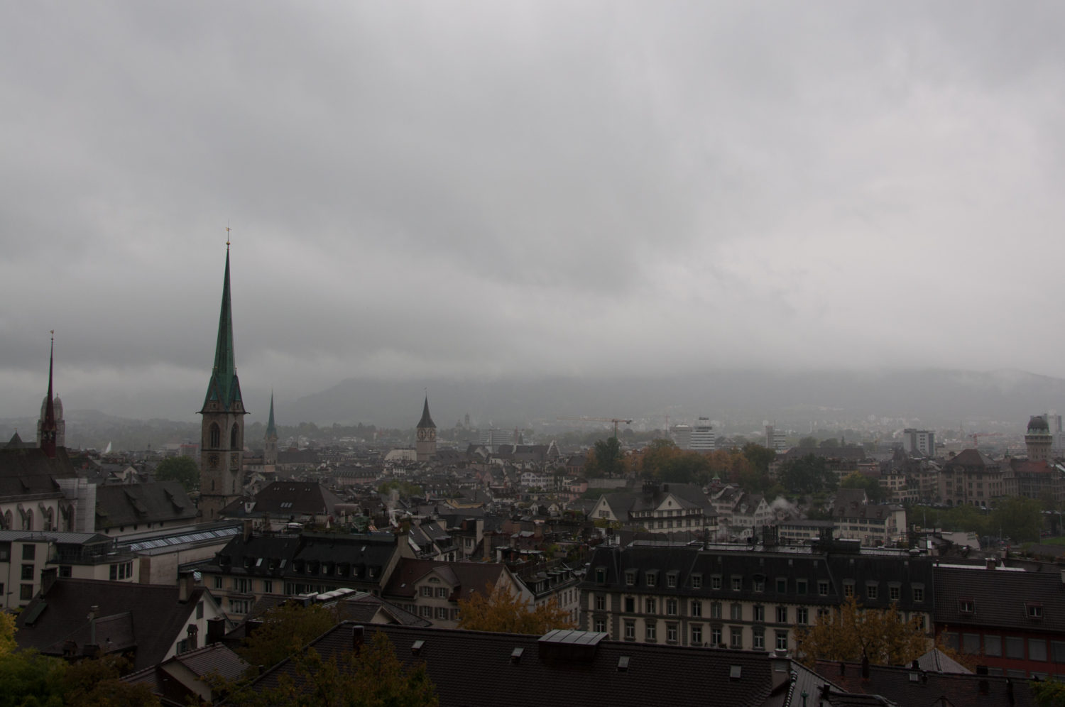 Europa, Kanton Zürich, Kreis 1, Niederdorf, Nordostschweiz, Schweiz, Zürich, _THEMES, cloud cover, clouds, district 1, natur, nature, old town, wolken, wolkendecke