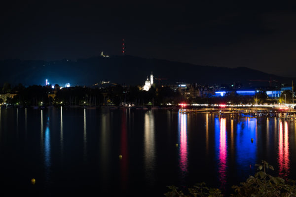 Feststadt bei Nacht II