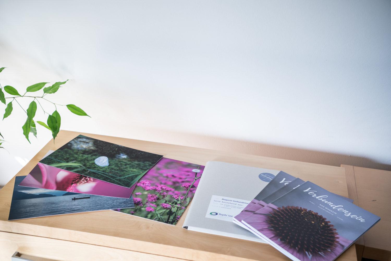 Magazin Verbundensein, produktbild, projekt